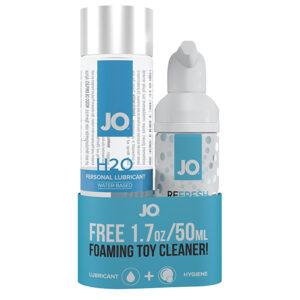 H2O Glidecreme 120 ml og rens 50 ml
