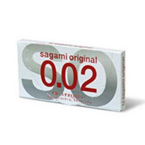 Sagami Latexfri Kondom 2 stk