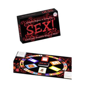 Sex' Brætspil