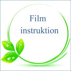 Film DVD, instruktion