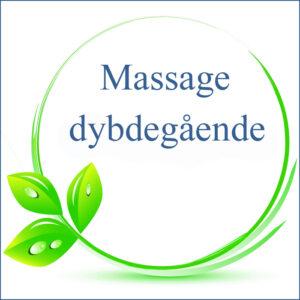 Massage, dybdegående